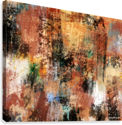 Brownian Movement  Canvas Print