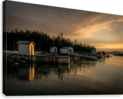 Little Burnt Bay  Canvas Print