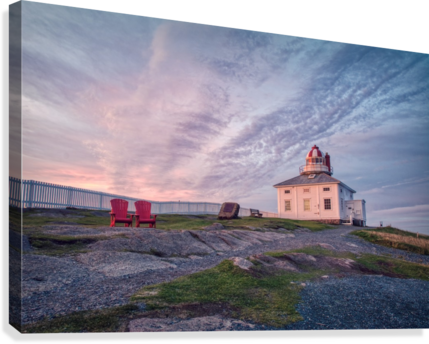 Cape Spear Sunrise  Canvas Print