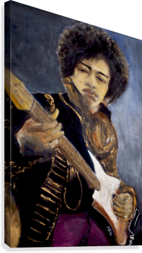 Jimi_High_Res  Impression sur toile