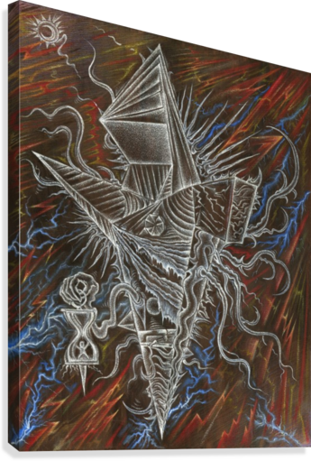 Deity_From_The_Abyss_2  Canvas Print