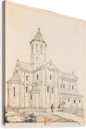 Eglise de Rosheim  Canvas Print