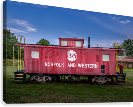 Norfolk & Western Caboose  Canvas Print
