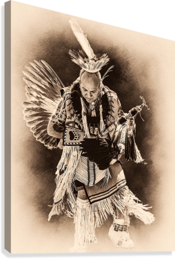 Native American 14  Canvas Print