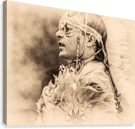 NATIVE AMERICAN 6 ERIC FRANKS PHOTOGRAPHY  Canvas Print