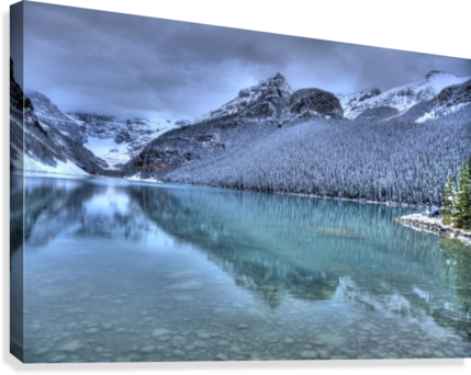 Lake Louise Winter  Canvas Print