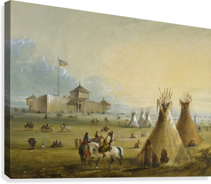 Fort Laramie  Canvas Print