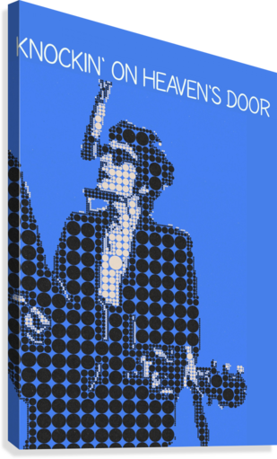Knockin on Heavens Door   Bob Dylan  Canvas Print