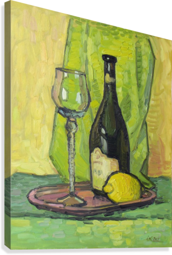 Still Life with Lemon  Canvas Print