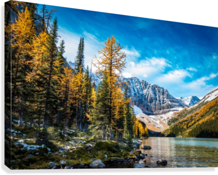 TAYLOR LAKE, ALBERTA JANE DOBBS  Canvas Print