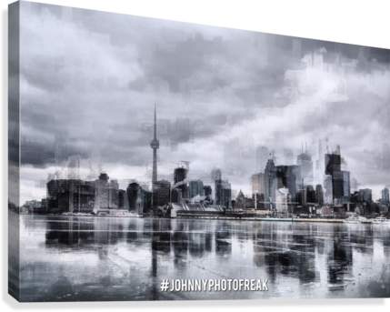 Toronto on the ice   Impression sur toile