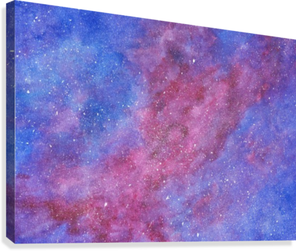 Galaxis  Canvas Print
