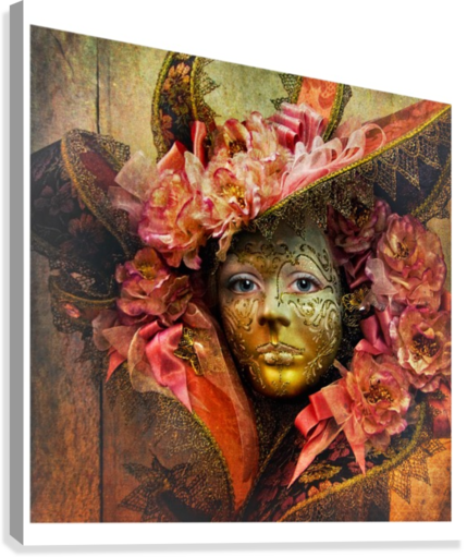VENETIAN MASK LILY MARKOVIC  Canvas Print
