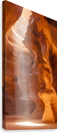 Beautiful Antelope Canyon Panoramic View  Impression sur toile