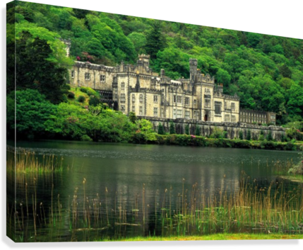 G 021 KYLEMORE ABBEY MICHAEL WALSH  Canvas Print