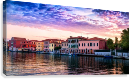 MURANO MORNING MICHEL NADEAU  Canvas Print
