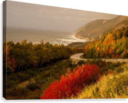 Autumn on the Cabot Trail  Canvas Print