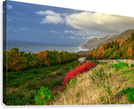 Cabot Trail Colors  Canvas Print