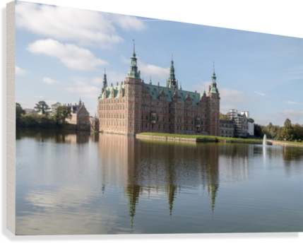 CASTLE OF FREDERIKSBORG  PIETRO EBNER  Canvas Print