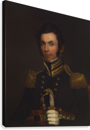 Portrait of Colonel Alexander Smith  Canvas Print