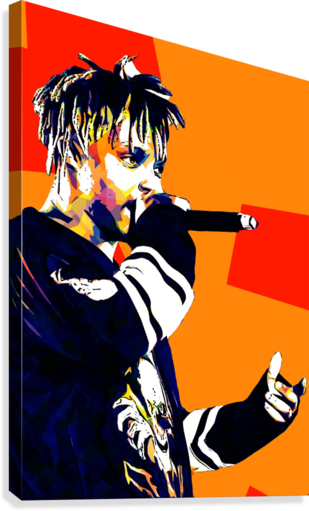 Juice Wrld Best American Rapper Art Style 15  Canvas Print