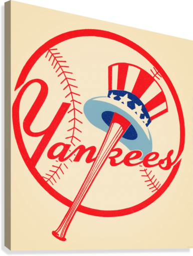 1950S NEW YORK YANKEES ROW ONE BRAND  Canvas Print