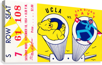 1954 UCLA vs. San Diego Navy