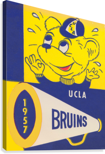 1957 UCLA Bruins  Canvas Print