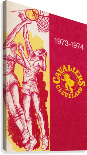 1973 Cleveland Cavaliers   Canvas Print