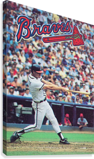 1988  Atlanta Braves Dale Murphy   Canvas Print