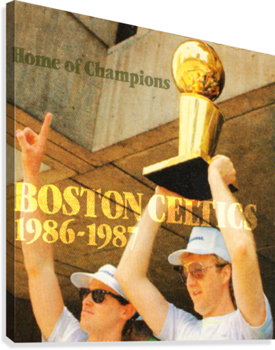 1986 BIRD AND MCHALE ROW ONE BRAND  Canvas Print