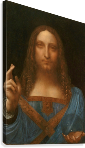 Salvator Mundi  Canvas Print