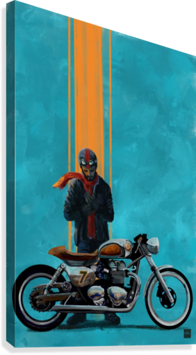 caferacer  Canvas Print