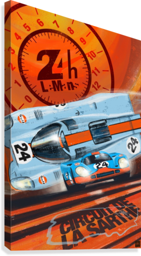 leMans  Canvas Print