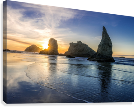Bandon Oregon 02  Canvas Print