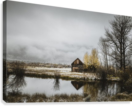The Cabin  Canvas Print