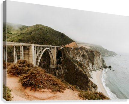 Bixby Bridge California  Impression sur toile