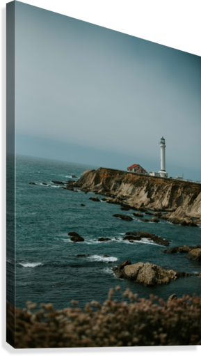 Point Arena Lighthouse California  Impression sur toile