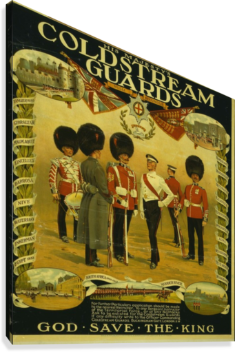 Coldstream Guards  Canvas Print