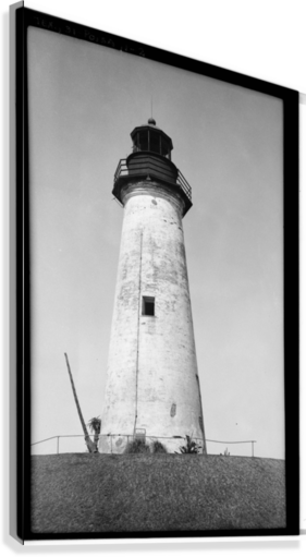 Point-Isabel-Light-Station-Texas  Canvas Print