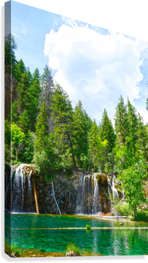 Back Country Waterfalls  Canvas Print