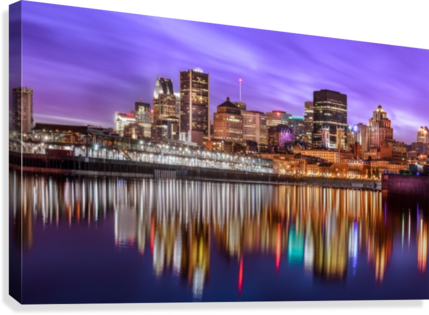 MTL Skyline Canvas print