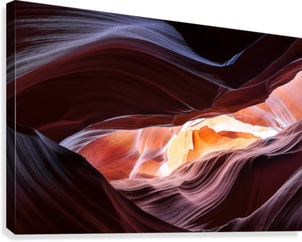 Upper Antelope Canyon 13  Canvas Print