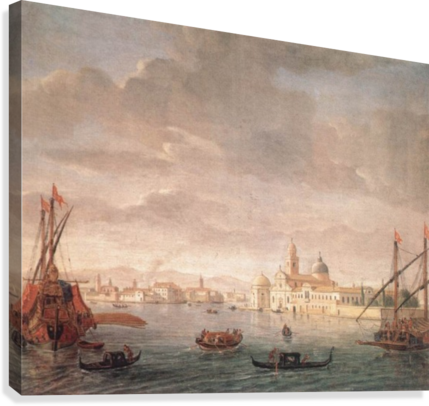 The Island of San Michele  Canvas Print