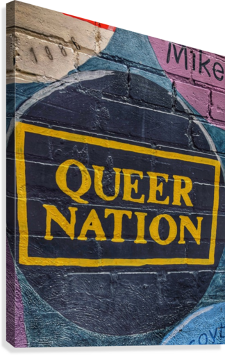 Queer Nation - Toronto  Canvas Print