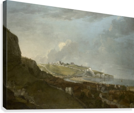 View of dover  Canvas Print