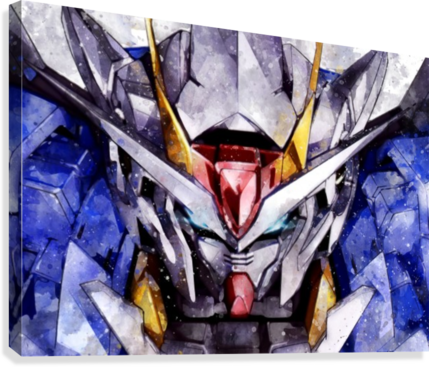 GUNDAM ARTWORK POSTER  Canvas Print