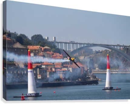 Oporto Red Bull Air Race 2017  Canvas Print