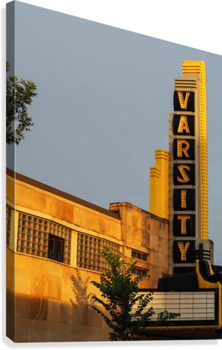 Varsity Theater   Canvas Print
