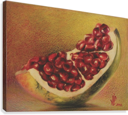 pomegranate by Vali Irina Ciobanu  Canvas Print